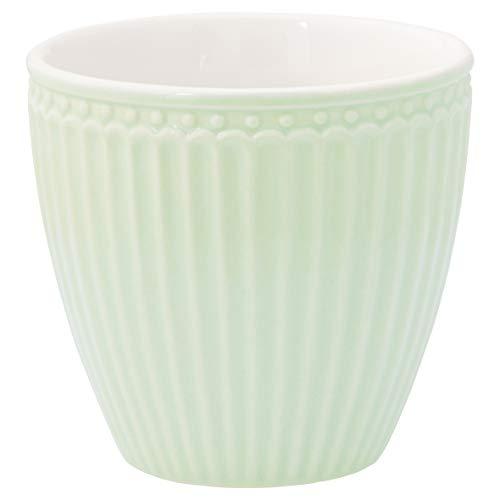 GreenGate - Kaffeetasse - Latte Cup - Becher - Alice - Pale Green - Porzellan