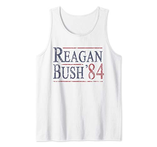 Reagan Bush 84 Republican Conservative Tank Top