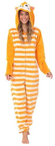 Body Candy Loungewear Ladies Onesie (Foxy, Large)