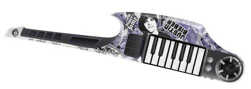 WowWee 6219 - Justin Bieber Keyboard Gitarre mit DREI Top-Hits