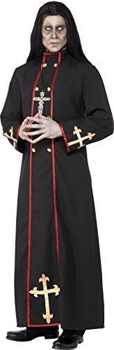 Smiffys Costume Ministre de la mort, Noir, avec robe