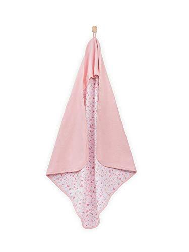 Jollein Petit Bain gaufré Rose Doux, 75 x 75 cm