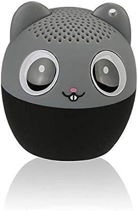 LAKD Mini Animale Bluetooth Altoparlante Portatile Cartone Animato All'aperto Lettore Musicale Zoom in Altoparlante Supporto Altoparlante Selfie Altoparlante Topo Grigio - Trova i prezzi più bassi