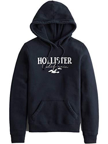[Hollister Co.(ホリスター)] ホリスター レディース プルオーバー パーカー フーディー ロゴ SEAGULL ネイビー XSサイズ [並行輸入品]