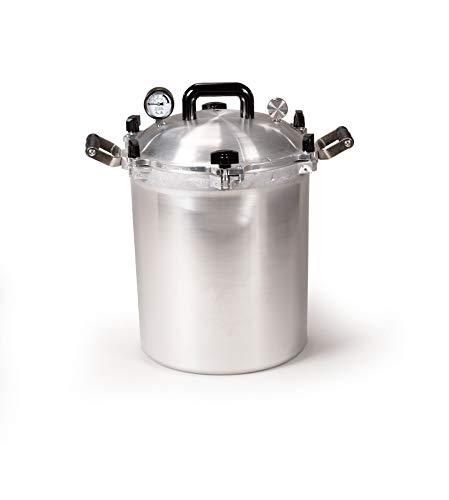All American 930 Canner Pressure Cooker, 30 qt,...