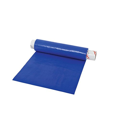 """Dycem-54613 Bulk Roll Matting, 8"""" x 2 yd. Roll, Blue, Non-Slip Material Helps Improve Stabilization & Gripping, Holds Plates & Bowls in Place, Grip Jars When Opening, Cabinet Liner, Exercise Mat, More"""