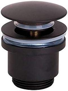 STARBATH PLUS Válvula Universal Click ClacK Lavabo Baño Negro Mate SA707-MB