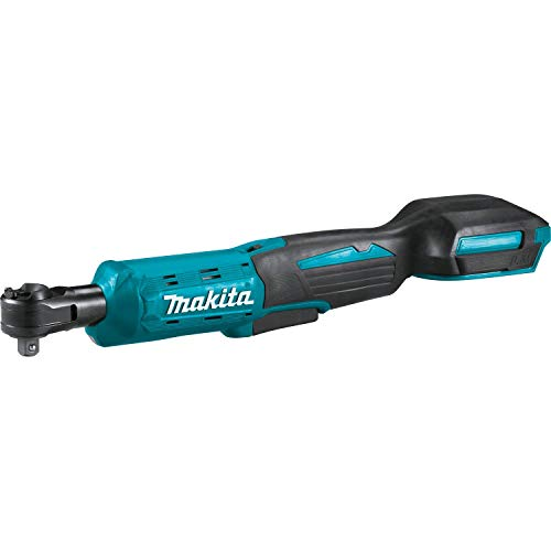 Makita XRW01Z 18V LXT Lithium-Ion Cordless 3/8' / 1/4' Sq. Drive Ratchet, Tool Only