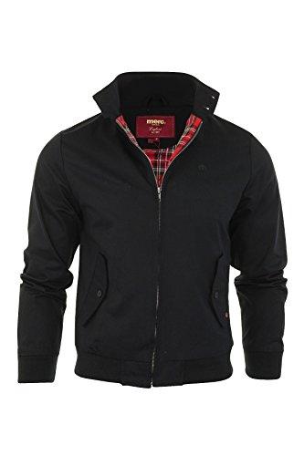 Merc Harrington,Jacket Cappotto, Nero (Black), M Uomo