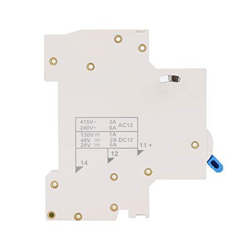 Interruptor auxiliar NXB-OF, Interruptor de contacto auxiliar NXB-OF Terminal de contacto de interruptor de circuito en miniatura, para el tipo de interruptor de circuito en miniatura NXB-OF