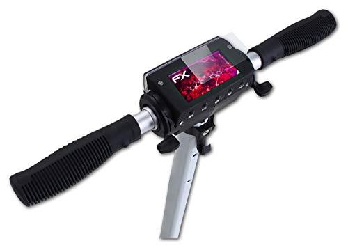 atFoliX Protection Écran Film de Verre en Plastique Compatible avec eFlux Lite One Verre Film Protecteur, 9H Hybrid-Glass FX Protection Écran en Verre trempé de Plastique