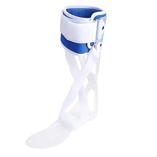 GHzzY Férula para la caída del pie del Tobillo Férula de ortesis de Abrazadera: Soporte Ajustable para el Tobillo para el Dolor de Artritis, Fascitis Plantar y espolón calcáneo,Left,M