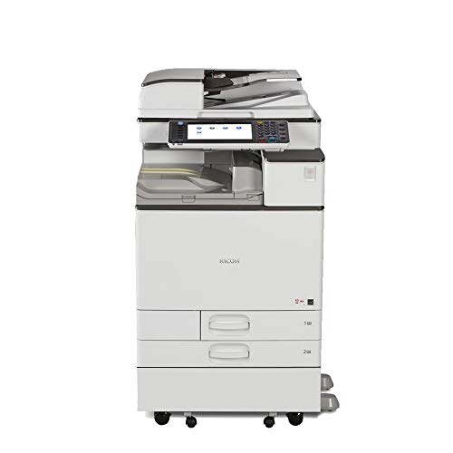 Review Ricoh Aficio MP C4503 A3 Color Laser Multifunction Copier – 45ppm, Copy, Fax, Print, Scan, Auto Duplex, Network, 4 Trays, Stand and Comes with Pre-Installed Postscript 3 Supplement (Renewed)