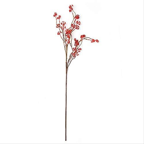 whc0815 Fake Flower Realistic Plant Art Decoration Adecuado para Cualquier ocasion Arreglo Floral de Ebay Longitud Total 132cm Longitud Total de Fake Flower Tree Tree 92cm