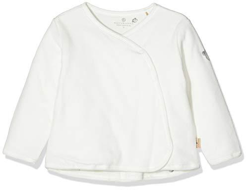 Bellybutton mother nature & me Jacke 1/1 Arm T-Shirt, Blanc (Cloud Dancer|White 1610), 3 Mois Mixte bébé
