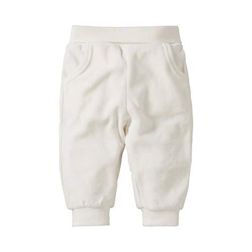 Bornino Basics Nickihose - kuschelig weiche Jogginghose für Babys aus Baumwolle - Komfortbund, elastische Beinabschlüsse & Seitentaschen