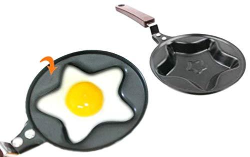 Mini sartén diseño de estrella - huevo frito