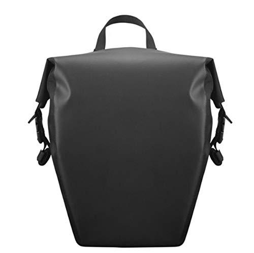 RongWang 10/20L Cycling Trunk Bags Large Capacity Bicycle Travel Pannier Rear Seat Pack Waterproof Multi-functional Bike Shoulder Handbag (Color : 03)