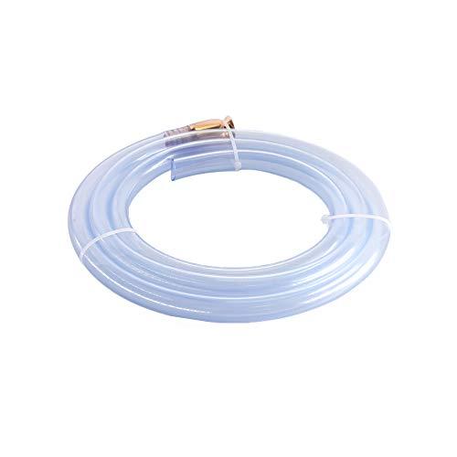 Apeixoto Gas Siphon for Multi- Purpose Fuel Siphon Pump 6 Feet 1/2 Inch Valve High Grand Hose