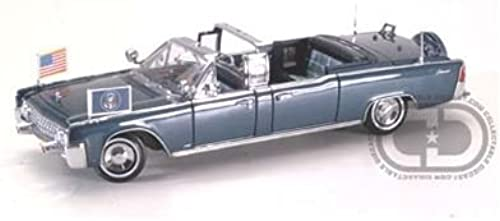 1961 Lincoln X-100 Presidential Parade Car Limo 1 24 Kennedy by Collectable Diecast