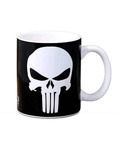 The Punisher Tasse mit Logo, aus Porzellan