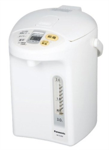 パナソニック 沸騰浄水ジャーポット ホワイト NC-EJ302-W