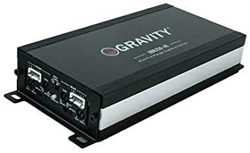 Gravity GBR250.4D True 360-Watt RMS Micro Ultra Compact Digital 4-Channel Full Range Amplifier with RCA Stereo input - Perfect for Motorcycle, RV, ATV, Car, Boat, Marine