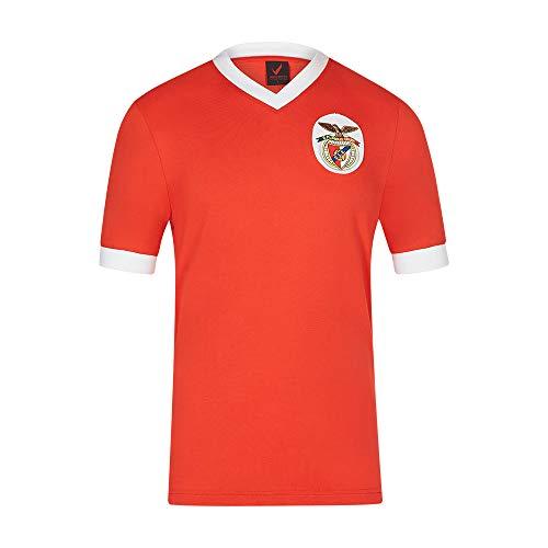 Benfica SL 1950 Latin Champions Jersey, Maglia Uomo, Rosso/Bianco, XL