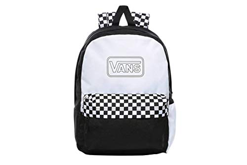 Vans Unisex-Adult VN0A4V3PWHT backpack, White, One Size