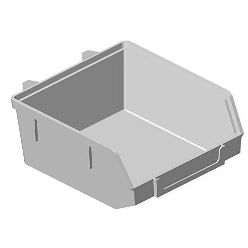 20x ELEMENT System Lochwand Minibox 90x90 H 40 weiß Lager Sichtbehälter Sichtlagerkasten 11403-00000