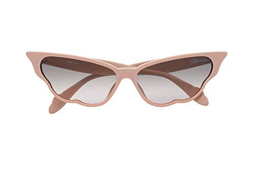 Blumarine Gafas de sol SBM748 por Giulia De Lellis 09FF rosa tamaño de 59 mm de gafas de sol de las mujeres