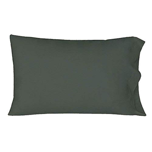 CCWB by Cotton Craft Premium 600TC 100% Cotton Set of 2 Pillow Cover/Pillow Shams (Grey -18 x 28)