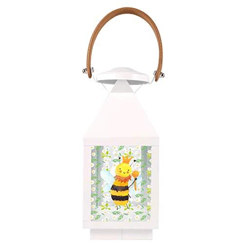 Mr. & Mrs. Panda , S Gartenlaterne Biene König - Farbe Transparent