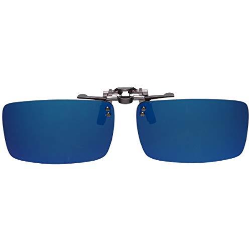 GoodsLand 【 8color 】 クリップオン サングラス 偏光 釣り 運転 調光 眼鏡 メガネ クリップ式 メンズ レディース GD-CL-GLASS-MRBL
