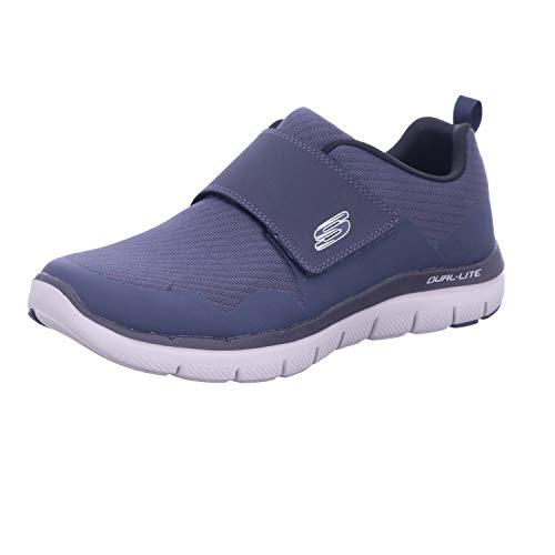 Skechers Flex Advantage 2.0 Gurn, Zapatillas Hombre, Blue, 41.5 EU