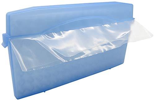 Fackelmann Crushed-Ice-Maker, Eiswürfelform für selbstgemachtes crushed ice, Eiswürfelbereiter (Farbe: Blau), Menge: 1 Stück