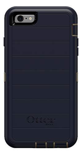 OtterBox Defender Series Robuste Schutzhülle für iPhone 6S Plus & iPhone 6 Plus, nur Schutzhülle, Keine Einzelhandelsverpackung, DUNKELSEE