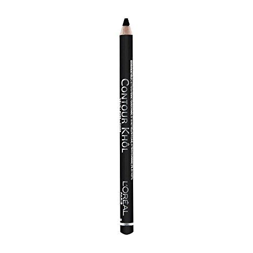 L'Oréal Paris Color Riche Le Khôl, 101 Midnight Black - präziser und farbintensiver Kohl Kajal...