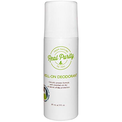Real Purity, (2 Pack) Roll-On Deodorant