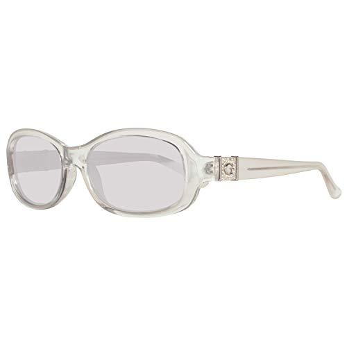 Guess Sonnenbrille GU7424 5426C Gafas de sol, Transparente (Transparent), 54 para Mujer