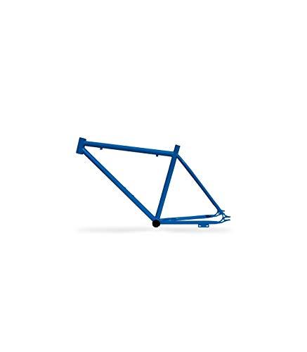 Riscko 001l Cuadro Bicicleta Personalizada Fixie Talla L Azul