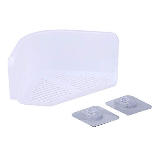 Buy Shower Shelf Bathroom Corner Rack Stand Adjustable Organiser Caddy for Hotel Bathroom Accessorie...