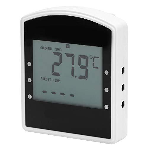 EECOO Fleischthermometer, digitales kabelloses Grillthermometer Lebensmittelfleischgrill-Temperaturmesser zum Kochen in der Küche