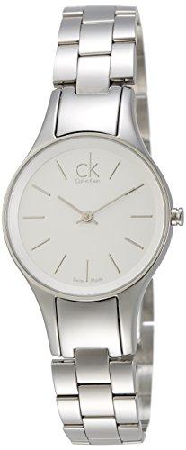 Calvin Klein Simplicity K4323126 - Reloj de Mujer de Cuarzo, Correa de Acero Inoxidable Color Plata