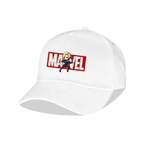 XIANGQIAN Casquette Avengers 4 Europe et Amérique Marvel Iron Man Spiderman Visor Sports Wild Cap Casquette de Baseball Tendance