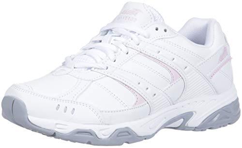 Avia Damen Avi-Verge Turnschuh, Bright White Pink Silver Steel Grey, 40 EU