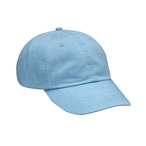 Adams AD969 Optimum Pigment - Gorra teñida Azul azul celeste Taille unique