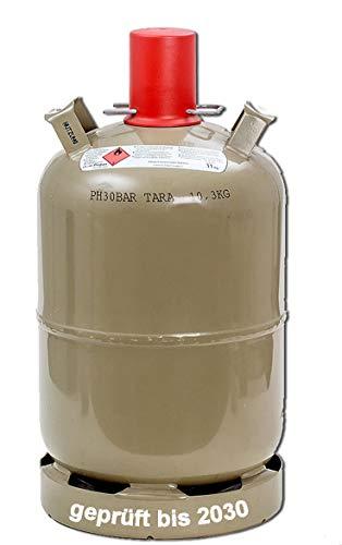 Gasflasche Grau 11 kg leer Neuflasche Propangasflasche