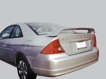 Accent Spoilers- Spoiler for a Honda Civic 2dr. Factory Style Spoiler-Milano Red Paint Code: R81