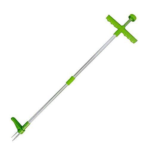 Weeder Tool Manual Soporte manual Mueble Puller Removedor Herramienta Jardín Weed Puller Doble Sección Detachable Weeder